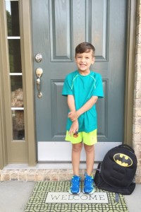 Dear Joshua, On Your First Day of First Grade