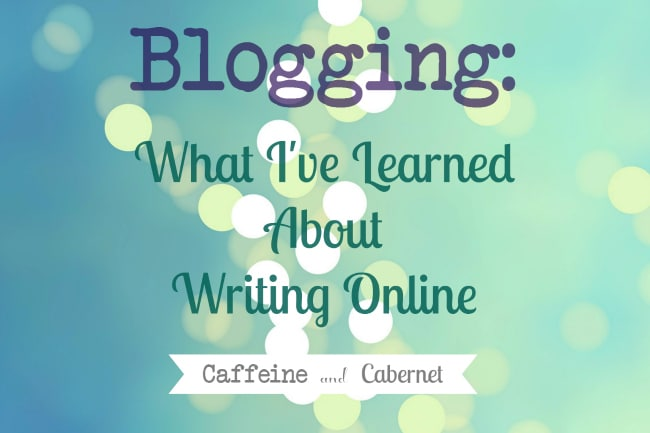 blogging what I learned about writing online