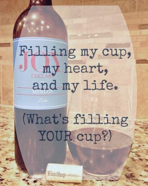 Filling My Cup