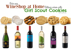 Girl Scout Cookies and Wine from WineShop at Home