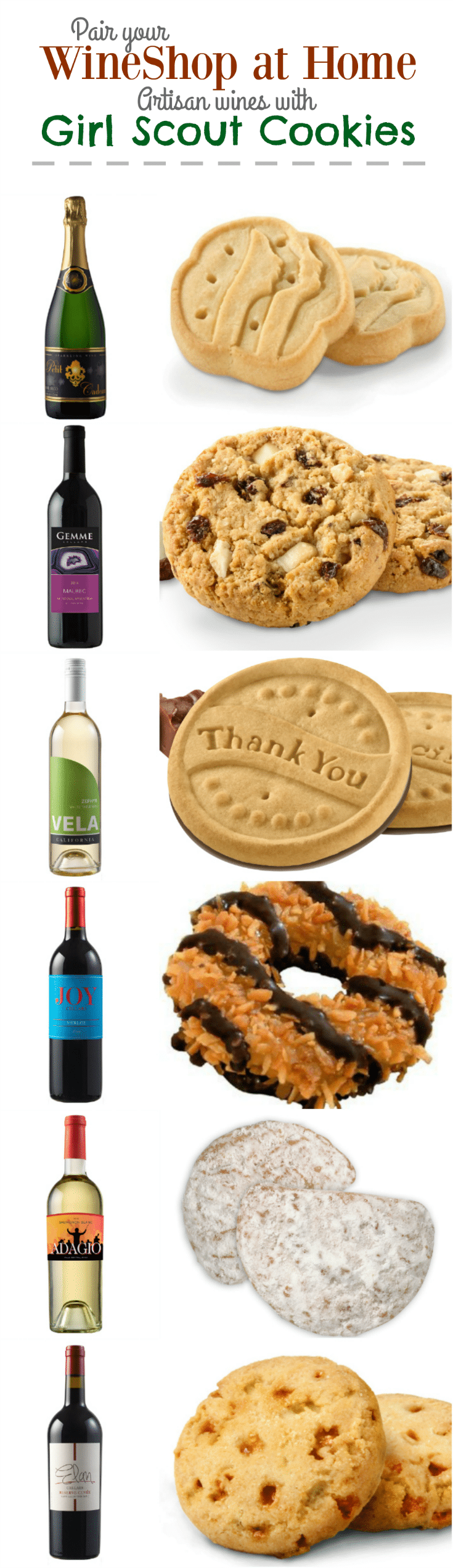 WineShop at Home and Girl Scout Cookies