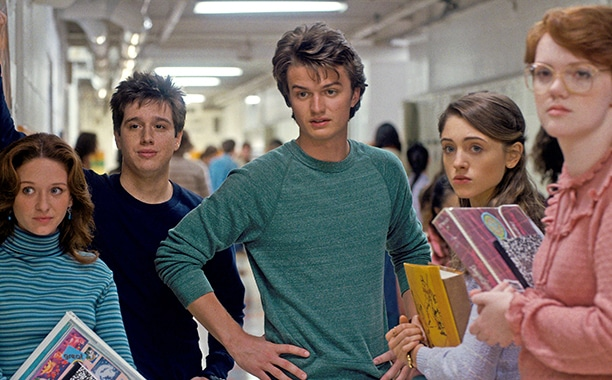 stranger things teens