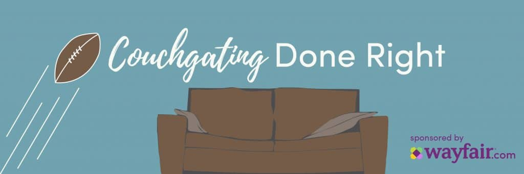 Couchgating Done Right! {A Wayfair Sponsored Post}