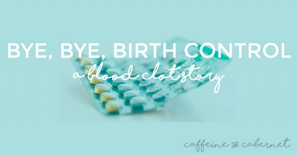 birth control and blood clots