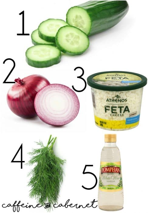 cucumber dill salad ingredients