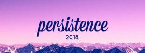 Persistence: My 2018 Word of the Year
